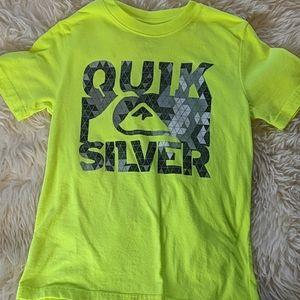 Quik Silver Boys Tee